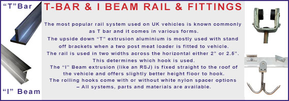 I-Beam & T-Bar rail Logo