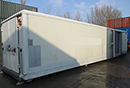 40ft Container, barn doors, flat floor, for Chilled, frozen or deep frozen storage, Choice available
