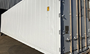 2002/4 40ft Shipping Container, with Carrier Microlink 2i Thinline fridge units, 3phase electric only, -25C to +25C, GVW 34000kg, fluted aluminum floor, barn doors. Choice available.