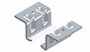 C Channel Fixing Brackets Short Plain (No Chain)