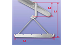 Hanger - hook with rim<br>