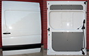 From 2006 onwards, Sliding side door for new model Sprinter. Removed from vehicle when NEW. Dimenisons are: 2180mm high x 1510mm wide.  Cost of new door is £320  + price of painting + VAT.