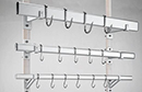 Built from anodised aluminium alloy sections with stainless steel screws and bolts.<br><br>