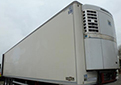 2008 Chereau semi trailer, BPW brakes, Thermo King diesel unit with 3-phase standby, barn doors.