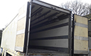 USED 12M Meat railer semi-trailer, Tri-axle, skirts on side. Been sat as a coldstore for 3 years, drove in so should be reasonable to get out again. five alloy