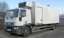 180E24 Tector, new MOT, 24ft body with barn doors and single side door, Carrier Diesel unit, Column Tailift, VGC.