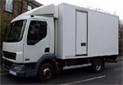 2006, DAF LF45.150 for chill or freeze application. Choice available; Mileage 113- 208kms, 15ft Solomon Body, triple rear doors, single side door, third width cantilever tailift. Formerly with a national dairy company and have trolley load restraint systems and shelving at high level. all straight from work and in working order. can have full MOT and any modifications necessary at additional costs.