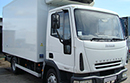 06 plate, Iveco 75e17,  7.5T GVW, 119300kms, on air suspension,  15ft second life body, three meat rails, meat hoist, 2006 Carrier Supra 450 diesel unit, three phase standby,