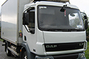 04 plate, DAF LF45.150, 7.5t GVW, Euro 3, 250,000kms, MOT May 2014, 14ft meat rail body,  3 rails, hooks, Reg Holmes meat loader,  Carrier Xarios 500 direct drive unit, 3-phase standby,barn doors, non-slip floor.