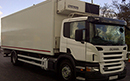 54 plate, Scania P230, 18T GVW, 2 seats, 667,655kms, Frigoblock unit, triple rear doors, strip curtains, Ratcliff Tailift.