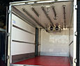 Recently converted for a customer -  SOLD -  2006, DAF LF45.150 with a retrofitted Meat rail conversion. 15ft Solomon Body, triple rear doors, single side door, third width cantilever tail lift. We installed a retrofitted meat rail system, strengthening the ceiling to take the weight, 3 T Bar meat rails with two returns, an extra hook for hanging scales. We removed the existing tail lift to give extra payload. <br><br>This vehicle is sold. Contact us with your requirements for a refrigerated truck converted with a retrofitted meat rail system. Let us know the size vehicle and rail type you require.