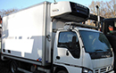 56 plate, Isuzu NQR 70, 7.5t GVW, LEZ, Euro4, 3 seats, 4x2, 6 gear, cruise control, February 2016, digital tacho, 144bhp, 4.1m Reep body, moveable bulkhead, Carrier Supra 550 diesel unit, 3phase standby, triple doors, nearside side door, in-cab controls, CD player, electric windows.