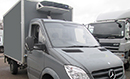 13 plate, Mercedes 313CDi, 3.5t GVW, 