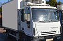 08 plate Renault Eurocargo 75E16 7.5t GVW, 292,989km, Hubbard unit, single phase standby.