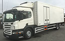07 plate Scania P230 18t GVW, Euro4, Sleeper, 2 seats, 4x2, on air, 230bhp, 6 speed, 510000km, MOT October 2016, 2 owners, tyres over 60%, diff lock, wind breaker, air con, 26ft Gray & Adams body, Carrier Supra 850 MT diesel unit, 3phase standby, multi temperature, dual evaporators, seperate diesel tank, barn doors, double nearside side doors, fold down step,1.5t tail lift.