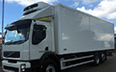 12 plate, Volvo FE300, 26t GVW, Euro5 , 6x2 rear lift axle, 9 ton front axle, 300bhp, 8 gears, 2 seats, 409000km , MOT June 2017, 1 owner from new, tyres over 80%, 28ft Gray & Adams body, Thermoking T-1000R diesel unit, separate diesel tank, 3phase standby, barn doors, in cab controls, printer, wind breaker, chequer-plate floor.