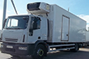 58 plate, Iveco ML180 E25S, 18t GVW, Sleeper, Euro5, 414,181km, MOT 05/08/2017, Solomon body, moveable bulkhead with door, Carrier Supra diesel unit, 3phase standby, barn doors, nearside side door, tuck-away tail lift.