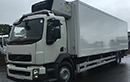 10 plate Volvo fL240, 18t GVW, LEZ, 2 seats, Euro5, 4x2, on air, 240bhp, 6 gear, auto, sun visor, air con, diff lock, tyres over 70%, 474000km, MOT May  2017,  28ft Gray and Adams body, dual  lane, moveable bulkheads on both lanes, Carrier 950 MT diesel unit, multi temperature, 3phase standby, barn doors, 2 tie rails, seperate red diesel tank, in cab controls, printer, non-slip floor, 1.5t tuck-away tail lift.