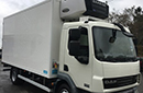 08 plate, DAF 45.160, 7.5t GVW, 2 seats, Euro4, 160bhp, 5 gears, 2 owners from new, 256,537Km, MOT August 2017, 16ft Solomon body triple doors, walk in step, Carrier 850 diesel unit, 3phase standby, freeze to -25C, tie rails, in-cab controls, non-slip floor.