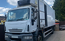 53 plate, Iveco 18t GVW,  22ft body, 4 x retro-fitted I-beam meat rails, There are currently NO hooks in this vehicle, Goal post style support frame work - retro fitted, very strong conversion. Triple rear doors, nearside side door, circa 500,000 miles, MOT Sept 2021, Carrier Supra 550 diesel unit needs a repair but will be done in price, 3 phase standby. non-slip floor. Can retrofit meat moader at additional costs.