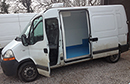 56 plate Renualt Master, 2.5 TD, 3 seats, cd player, Air Con, 98,000miles, MOT Aug 13, Tax Aug 13, Thermo King C100 direct drive unit, Road only - NO standby, barn doors, nearside side door, new turbo fitted Sept 12, fridge unit serviced Aug 12