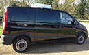 58 plate Vito 111 CDI Compact, SWB,  2770kg GVW, 2148cc, AUTO, 58900 miles, GAH unit, barn doors, sliding door both sides, in very good condition.
