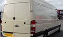 59 plate, Mercedes Benz 311 Sprinter, LWB, 106,591 miles, MOT Dec 14, Somers conversion, bi-fold bulkhead for dual compartment, GAH Rapier RF21T unit, single phase standby, chilled or frozen temperatures down to -20C, Transcan temperature recorder, barn doors, nearside side door. non-slip floor.