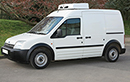 05 plate, Ford Connect L230, 2.34t GVW, LWB, 1.9L TD, 190,000 miles, MOT 28/05/2015, conversion by Somers, GAH Rapier unit; freeze to -25C; single phase standby, barn doors.