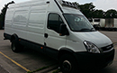 11 plate, Iveco Daily 70C17, 7T GVW, 3250kg payload, 170bhp, 3 seats, FSH, Euro5, 142,493 miles, TAX 05/2015, MOT June 15, Hubbard 460AL Road Only unit, barn doors, nearside side door, strip curtains to side and rear doors. 2 standard pallet capacity.
