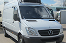 11 plate, Mercedes 313 CDi, 3.5t GVW,  MWB, 183,448 - 186,214 miles, MOT Feb 2015,  FSH, Solomon conversion, internal load dimensions 10ft 1in L x 5ft 9in H x 5ft 4in W, Carrier Xarios 350 unit, single phase standby, nearside side door, barn doors. Choice Available