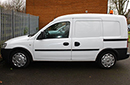 59 Plate, Vauxhall Combo, 1.7D, 2000 CDTI 16V, 12 month MOT, 1 owner, FSH, timing belt change at 60,000 miles, 97,000 Warranted Miles, fixed mid bulkhead for dual compartment – front chilled and rear ambient. Ideal for a sandwich round. We can add display shelving in the rear section for dry goods – as shown in example photo