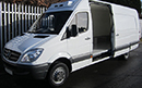 62 plate, Mercedes Sprinter 516, 5t GVW, LWB, 57,529km, high roof panel van, 3 seats, road only GAH Rapier unit, R134A no defrost, Chill only, barn doors, nearside side door. Choice Available.
