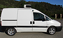 2006 Peugeot Expert 1.9 diesel, MWB, chiller, 76,000 miles, MOT 18th October 2016, Carrier  Xarios MXS 600 unit, single phase standby, barn doors, side door both sides, non-slip floor.