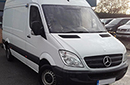 12 plate, Mercedes Sprinter 2.1 TD 313CDI, 3.5t GVW, MWB, 1 owner from new, 275,094 miles,  MOT 6/2017, 129bhp, ABS, GAH unit, barn doors, nearside side door, chequer-plate protection on floor.
