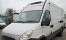 12 plate Iveco Daily 70C17, 7t GVW, Fibreglass interior, Carrier Viento unit, road only, 298,000 miles, full MOT, digital tacho, barn doors, nearside side door.