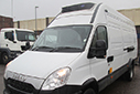 14 plate Iveco 70C17, MWB, 6 gears, 101,177 miles, MOT Carrier unit, single phase standby, barn doors, nearside side door.