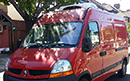 57 plate, Renault Master 100  3300kg GVW, MWB, 2464cc engine, Very low 48,000 miles, MOT until September, Hubbard 390 fridge unit, has automatic defrost, has standby, barn doors, nearside side door, non-slip floor. Approxiamate payload is 1000 kgs.