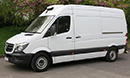 15 plate, Mercedes Sprinter 313, MWB, 3.5t GVW, 2.2L diesel, air con, 28,000 miles, MOT 10/05/2019, GAH Rapier, single phase standby, chill/freeze to -18C,  barn doors, nearside side door,  non-slip floor.