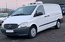 13 plate, Mercedes Vito 2.1 113 CDI, LWB, 3 seats, CD player, Stiring wheel audio controls, bluetooth, cruise control, 122,000 miles, one owner from new, FSH, freeze or chill, hatch rear door, side door both sides, non-slip floor.