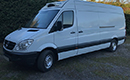 60 plate, Mercedes Sprinter 313 Cdi, LWB van chiller, 208,000 miles, 