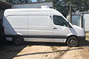 12 plate, Volkswagen Crafter, Chill only, 195,563 miles, MOT Jan 2020, barn doors, nearside side door, non slip floor.