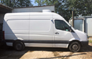 2012 - 12 plate, Volkswagen Crafter, CR35 TDi 109BHP, MWB, chill only, barn doors, nearside side door, non-slip floor. GAH Rapier fridge with standby single phase. Excellent condition, MOT till January 2020. 196000 miles. Selling as new vehicle purchased recentley.