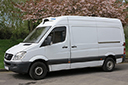 57 plate, Mercedes Sprinter 311, 3.5t GVW,