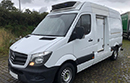 14 plate, Mercedes Sprinter 313CDi, MWB,  high roof, one owner from new, 126,000 miles, FSH, long MOT, Solomon body, dual compartment, Carrier Xarios 350 MT, direct drive unit, barn doors, nearside plug side door, non-slip floor.
