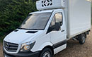 15 plate, Mercedes Sprinter 313CDi, MWB, 3 seats, 93,000 miles, MOT January 2021, one owner from new, FSH,  6 gears, cruise, bluetooth, fitted with Paneltex11ft body, GAH Excalibur direct drive unit, single phase standby, off set barn doors, fold down access step, non-slip floor.