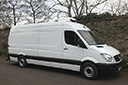 62 plate, First Registered December 2012, Mercedes Sprinter LWB refrigerated chiller van